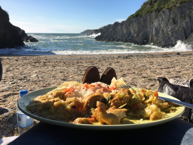 Barricane Beach curry on a Sunday