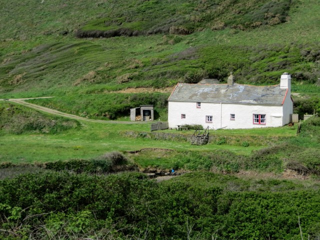 Blackpool Mill cottage, Hartland from The Night Manager