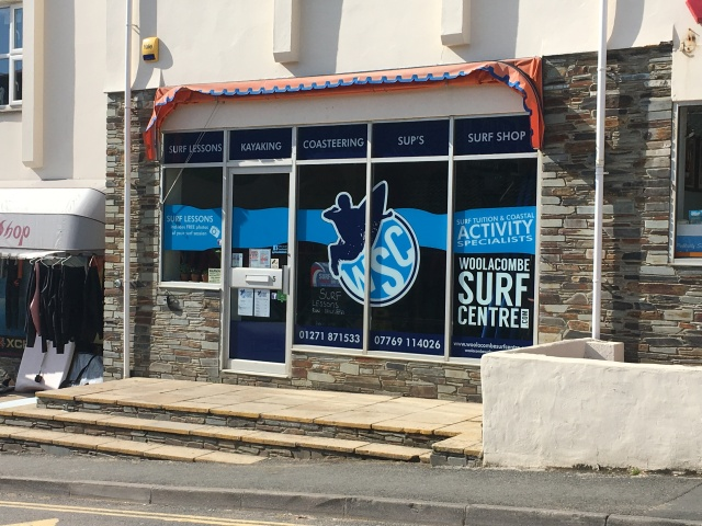 Woolacombe Surf Centre shop
