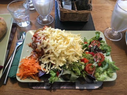 Jacket Potato from Tea on the Green