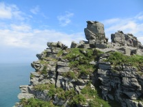 Rock formation at the Valley of the Rocks 2