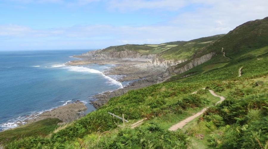 Lee Bay and Morte Point walk idea