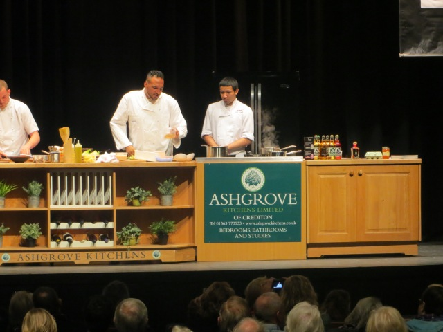 Michael Caines at North Devon Food Fest