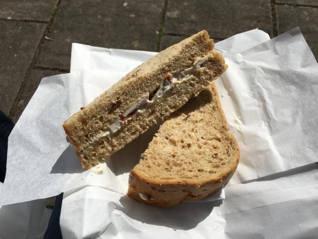 Cafecino's sandwich
