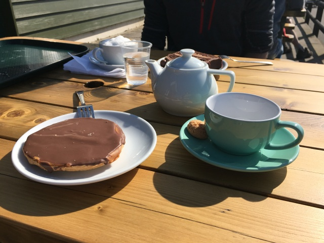 Shortbread from Fremington Quay Cafe chocolate