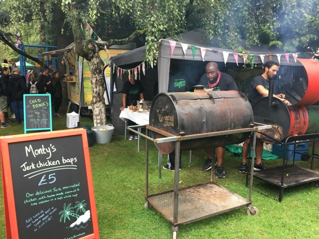 Monty's Caribbean Kitchen at Green Man Festival