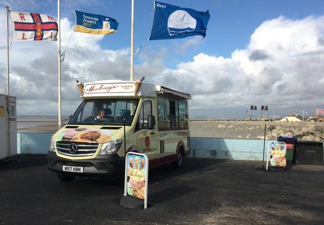 Hocking's flavour van in Westward Ho