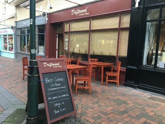 Driftwood Coffee Shop Barnstaple
