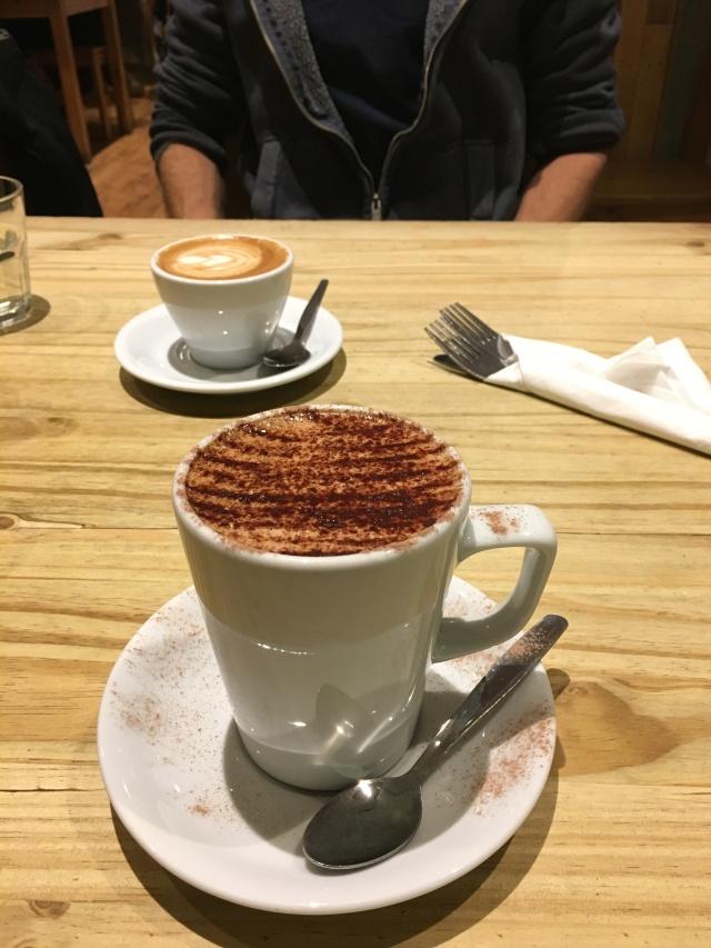Mocha from Driftwood Coffee Shop