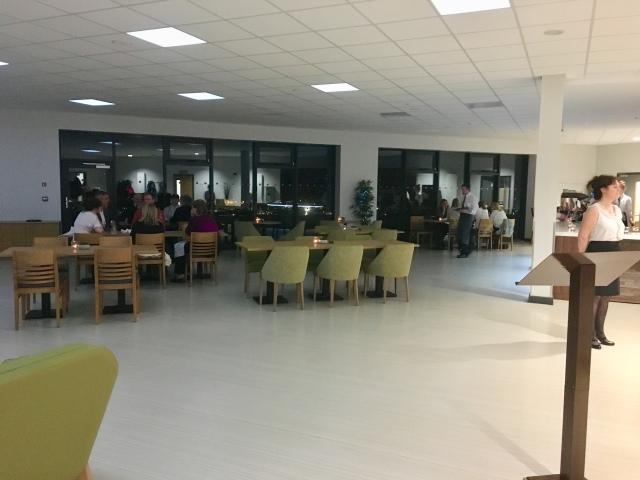 Inside The Taw Restaurant, Petroc