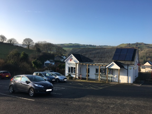 Berrynarbor Village Shop and car park