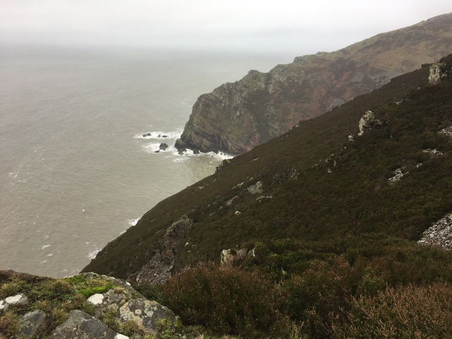 Looking towards cliffs by Heddon's Mouth