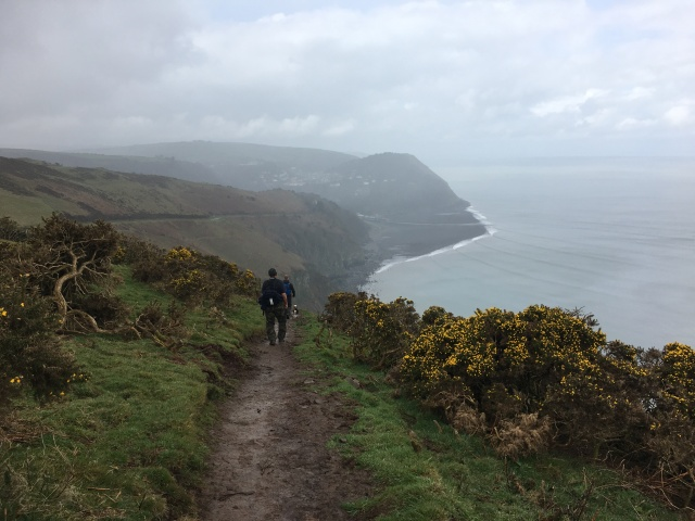 Down the hill to Lynmouth