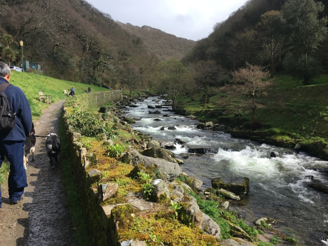Start of path to Watersmeet