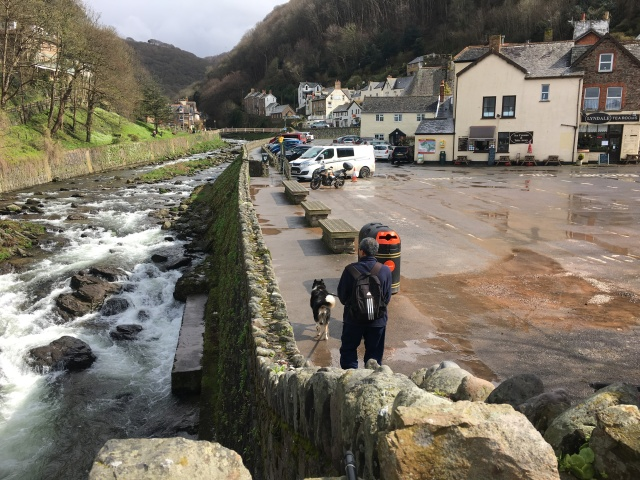 Lynmouth to Watersmeet path