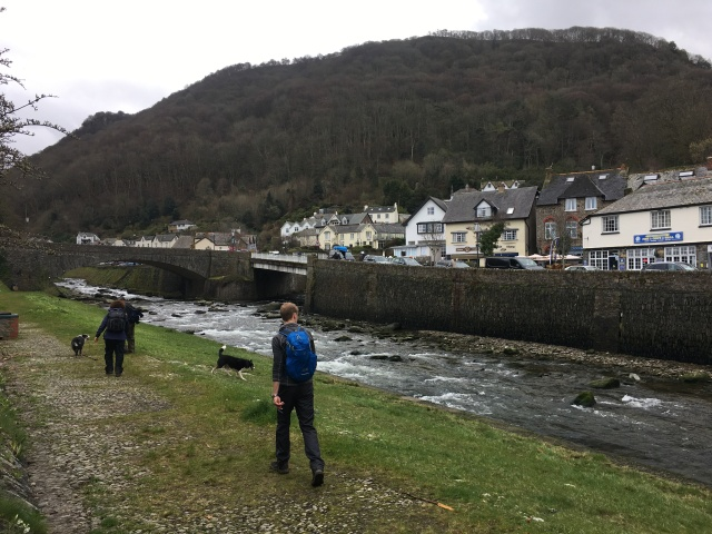 Lynmouth centre