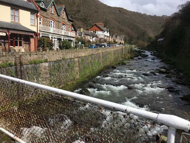 Footbridge in Lynmouth