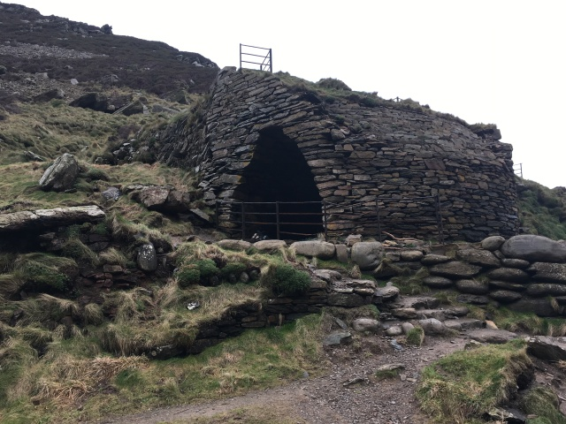 Restored limekiln at Heddon's Mouth