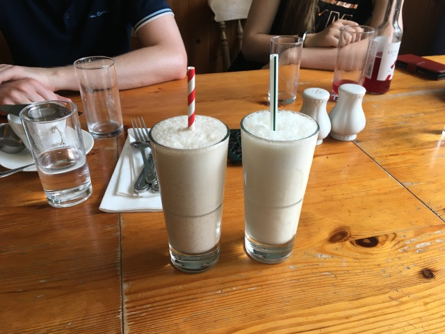 Milkshakes from The Corn Dolly South Molton