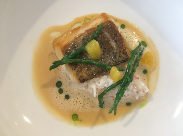 Hake from Thomas Carr @ The Olive Room
