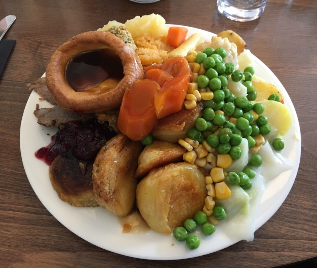 Carvery lunch at Country Cousins, Westward Ho!