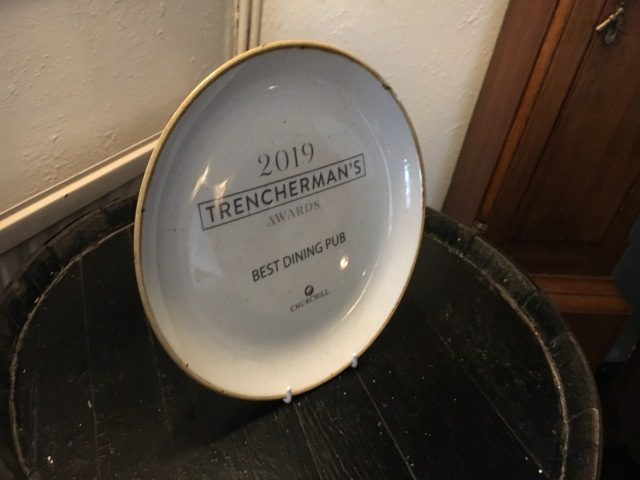 Pyne Arms Trencherman's Award 2019 Best Dining Pub