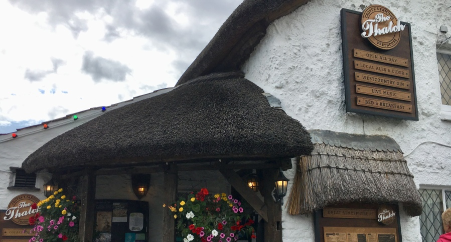 The Thatch in Croyde pub review