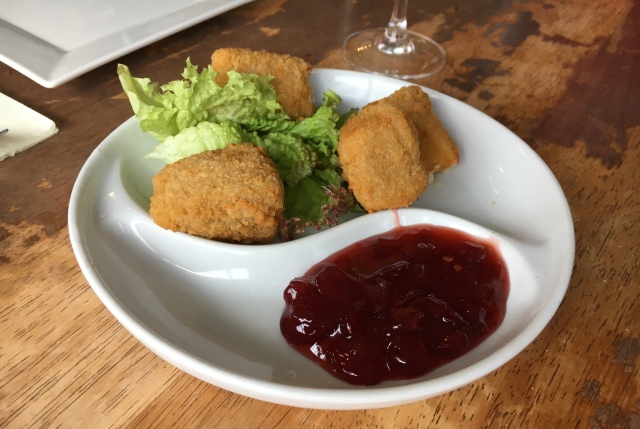 Breaded Brie from Lilico's tapas bar