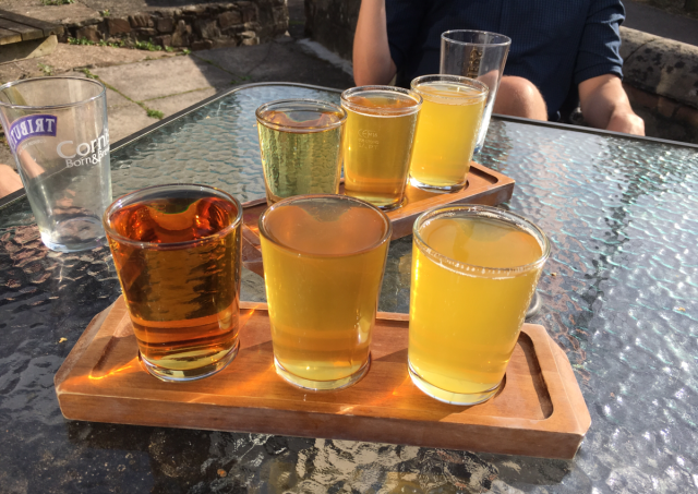 Ciders from the Cyder Presse, Weare Giffard