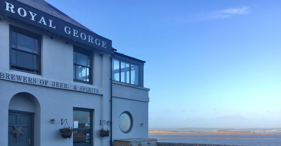 Royal George Appledore restaurant review