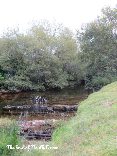 Peaceful waters in the Lorna Doone Valley Exmoor